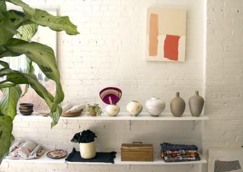 Caroline Z Hurley's store and studio. Photo: Aaron Poritz