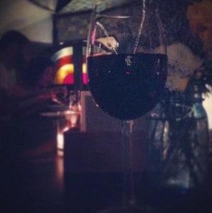 at the bar of The Bounty (all photos via IG: @_rosmarine_)