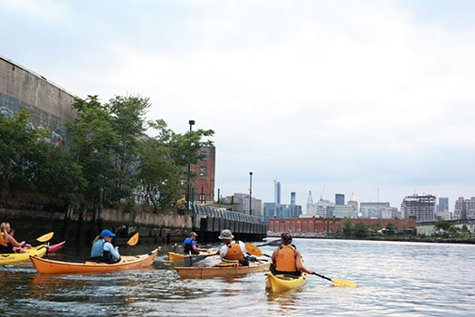 NorthBrooklynBoatClub_Paddlers_Kayak