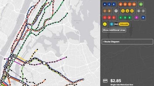 Screenshot: Brand New Subway