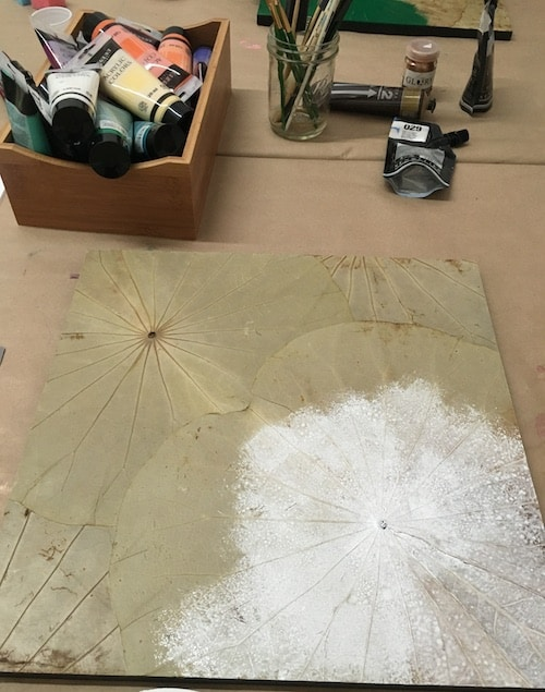 greenpoint_himapan_lotus_leave_painted_canvas_meghan_moreland