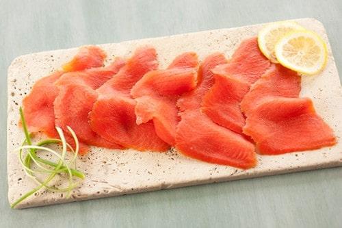 smoked nova salmon © acme smoked fish