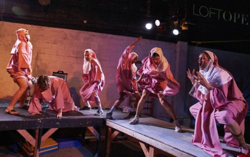 LoftOpera's Le Comte Ory, June 2016 at 350 Moffat St. Photos by Robert Altman