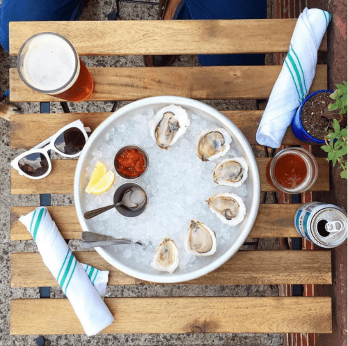 oysters! at Greenpoint Fish & Lobster