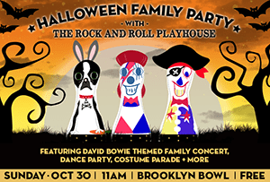 Halloween Family Party at Brooklyn Bowl - Halloween 2016