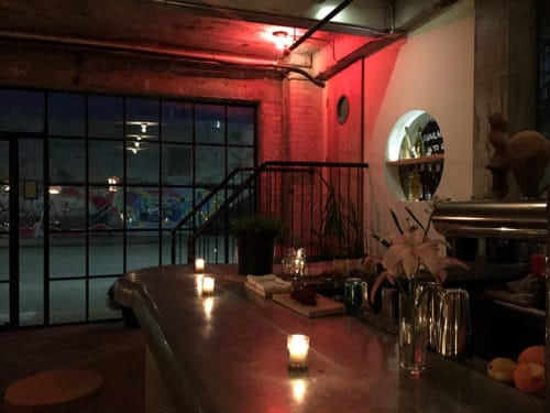 Inside Honey's on a quiet night. Photo: Megan Penmann.