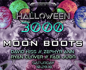 Halloween 3000 - House of Yes - 2016
