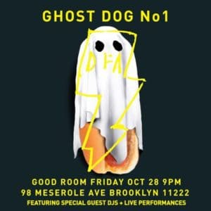 DFA Ghost Dog No 1 flyer
