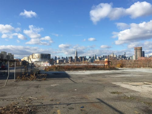 Bayside Fuel Oil Depot - part of the future site of the expanded Bushwick Inlet Park. Photo: Megan Penmann