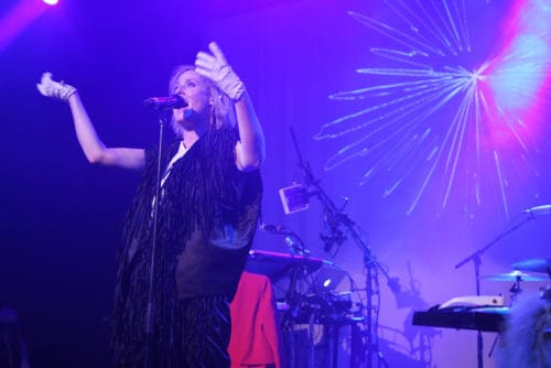Roisin Murphy at Music Hall of Williamsburg on Friday night. All photos: Zachary Filkoff