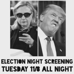Black Rabbit Bar Election Night 2016