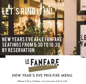 Le Fanfare NYE 2017