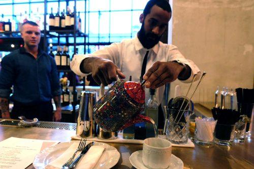 Tea pouring. Photo: Julia Moak