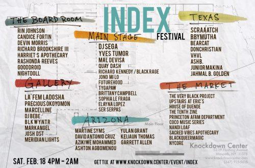 INDEX festival Knockdown Center