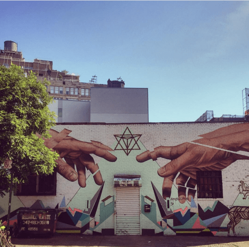 Mural by Varenka Ruiz and James Bullough