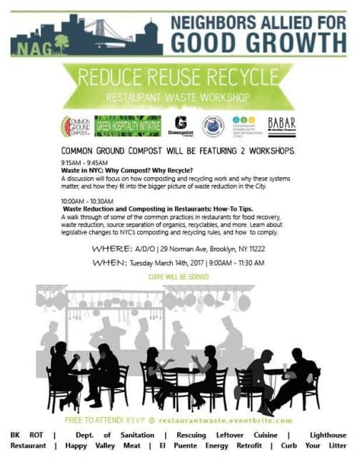 NAG - Food Waste Workshops