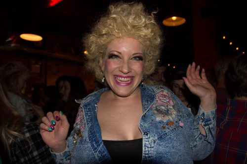 Dolly Parton Lookalike Contest at Mable's Smokehouse