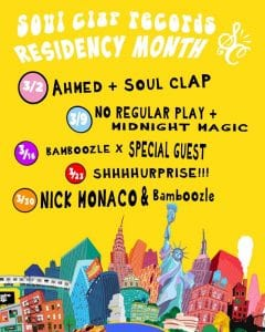 Soul Clap Residency @ Black Flamingo