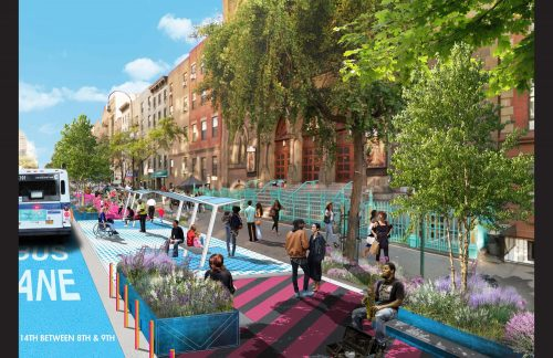 14th Street Reimagined - via TransAlt