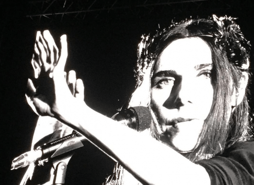 PJ Harvey performing at Primavera Sound 2016