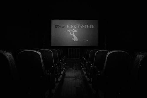 Inside the new Film Noir Cinema © Julie Congo