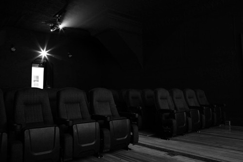 Theater seats at Film Noir © Film Noir