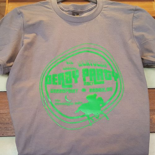 The Moonlight Mile's limited edition Derby Day t-shirt