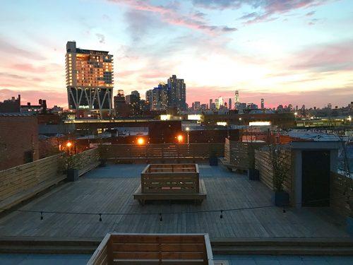 DobbinSt_Rooftop_Dusk
