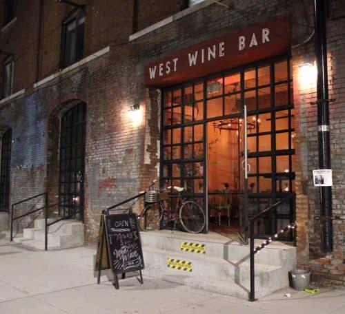 West Wine Bar - Krystyna Lijek