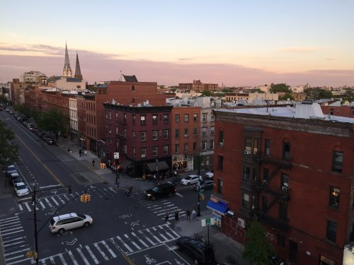 Franklin St & Greenpoint Ave. Photo: Megan Penmann