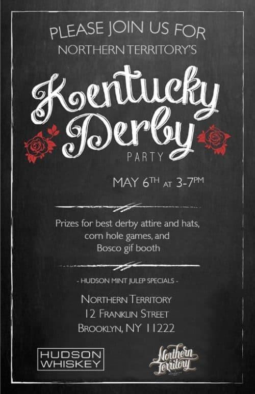 NT x Hudson Bourbon_Kentucky Derby Party 2017
