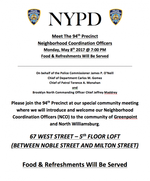 Meet The 94th Precinct 5/17