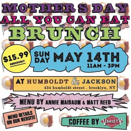 H&J Mother's Day Brunch 2017