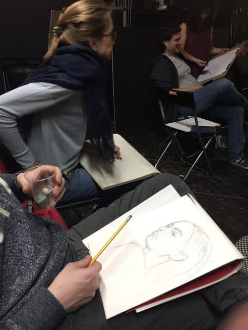 Greenpoint Figure Drawing. Photo: Julia Moak
