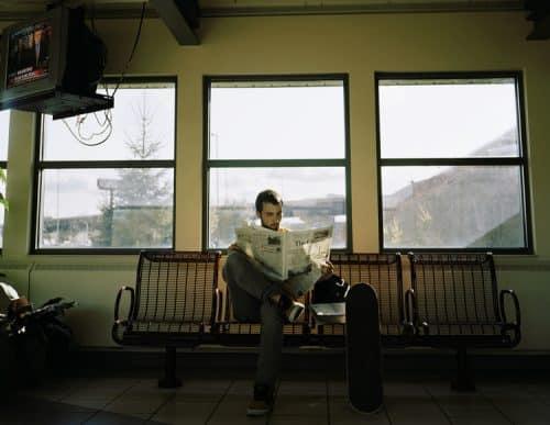 Self portrait, George Underwood