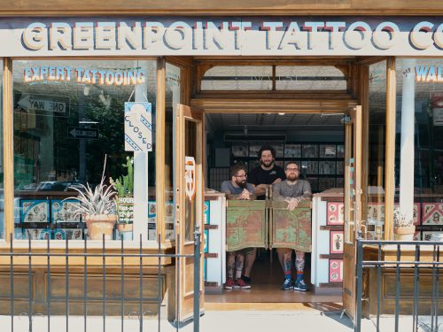 Greenpoint Tattoo Co. - photo by Mitch Boyer