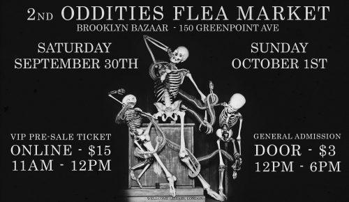 Oddities Flea Market Brooklyn Bazaar 2017