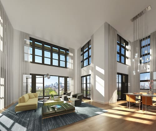 Ready to move into Greenpoint's Priciest Pad? Via 868 On The Park