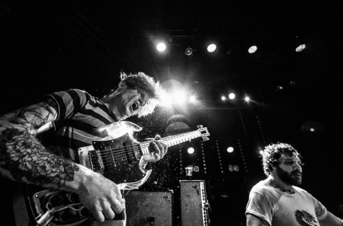 Thee Oh Sees! Photo: Thomas Girard, via Warsaw on Instagram