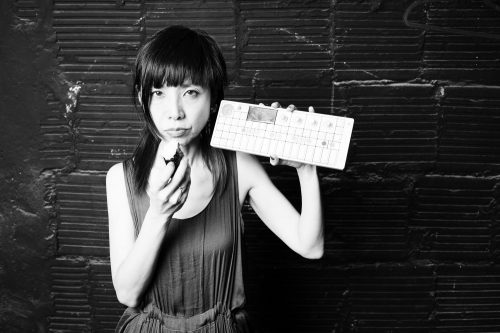 Multi-instrumentalist Yuka C. Honda, who will premiere Chopping Music. Photo by Nathan West.