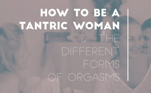 Different kinds of female orgasms