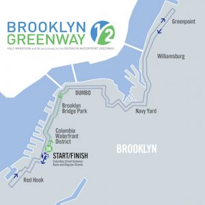 The Route. Via Brooklyn Greenway Initiative.