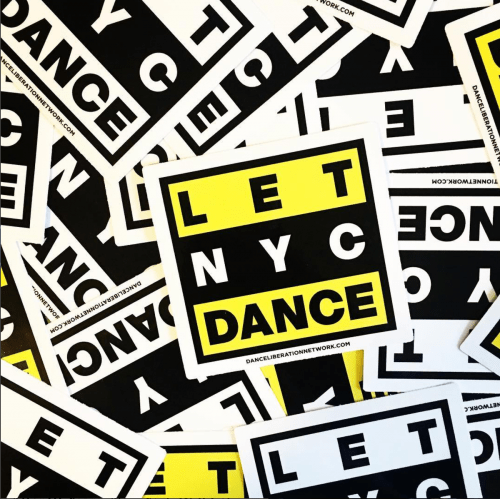 #LetNYCDance via Dance Liberation Network's Instagram