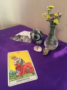 Monday Night Tarot. Photo courtesy of Eva Jane Peck