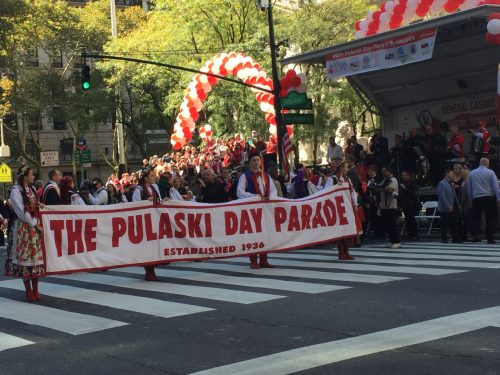 Via Pulaski Day Parade