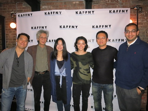 cast and directors of shield and the last tip at kaffny 2017