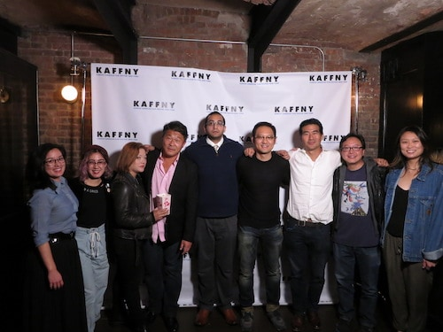 cast of the last tour at wythe hotel screening room kaffny 2017