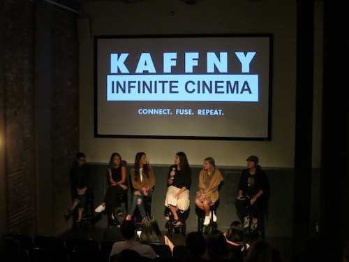 infinite fashion connection panel discussion at wythe hotel screening room kaffny 2017