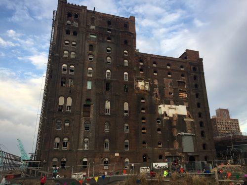 The Domino Sugar building today. Photo: Megan Penmann