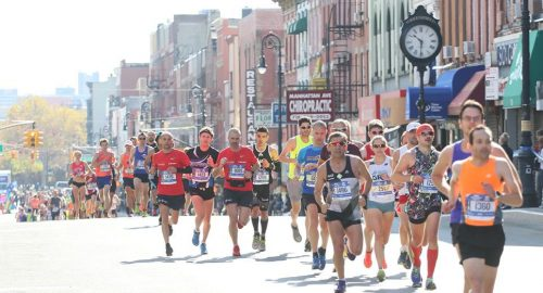 Marathon on Manhattan Avenue!